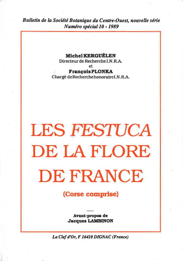 Les Festuca de la flore de France