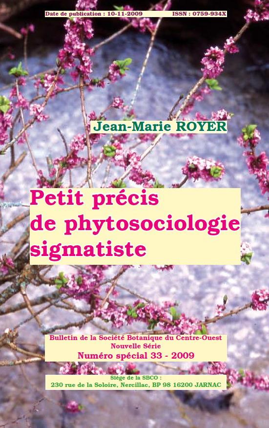 Petit Précis de Phytosociologie