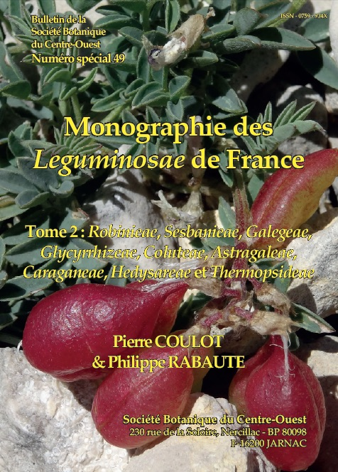 Monographie des Leguminosae de France Tome 2